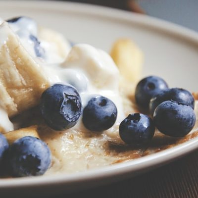 Healing Food Recipes - Lemon Paleo Pancakes With Blue Berries